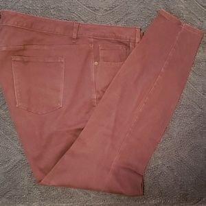 Maroon Old Navy Plus Long Jean's